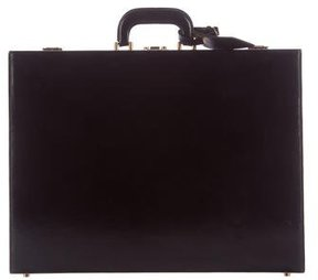 Hermes Box Leather Briefcase