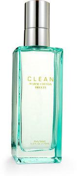 clean Warm Cotton Breeze Body Splash 5.9 oz. Spray
