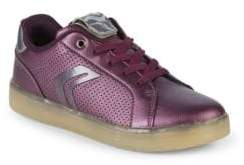 Geox Girl's J Kommodor Low-Top Sneakers