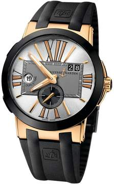 Ulysse Nardin Executive Dual Time Rubber Straps Automatic Men's Watch