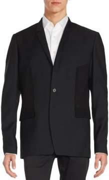 Juun.J Long Sleeve Solid Jacket