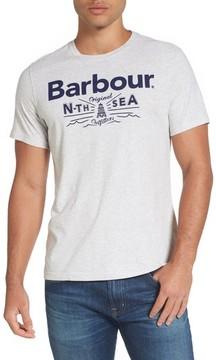 Barbour Men's Cove Slim Fit Logo Graphic T-Shirt