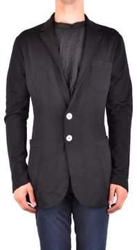 Dirk Bikkembergs Men's Mcbi097062o Black Wool Blazer.