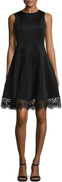 Donna Ricco Women's Fit And Flare Dress