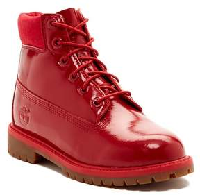 Timberland Premium Shine Waterproof Boot (Big Kid)