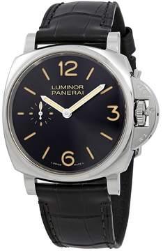 Panerai Luminor Due Black Dial Men's Hand Wound Watch