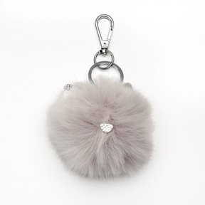 LC Lauren Conrad Cat Pom Pom Key Chain