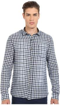 Mavi Jeans Checked Button Down Shirt Men's Clothing