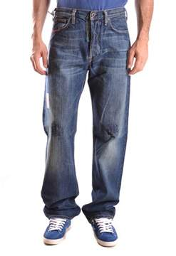 Mauro Grifoni Men's Blue Cotton Jeans.