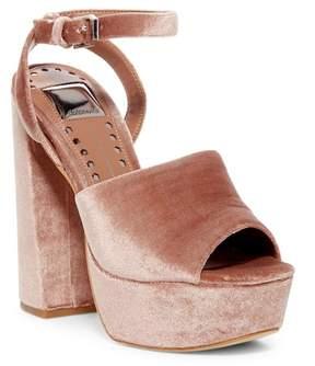 Dolce Vita Leela Velvet Platform Dress Sandal