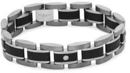 Tateossian Titanium and Germanium Link Bracelet