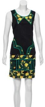 Anna Sui Embellished Mini Dress