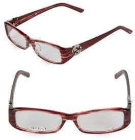 Gucci 53MM Marbled Optical Glasses