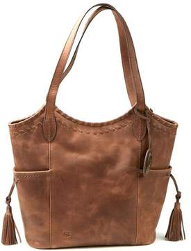 Børn Vallejo Distressed Leather Tote