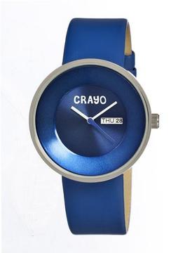 Crayo Button Collection CR0202 Unisex Watch
