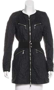 Moncler Yole Quilted Coat