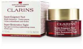 Clarins Super Restorative Night Age Spot Correcting Replenishing Cream