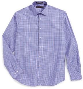 Boy's Michael Kors Plaid Dress Shirt