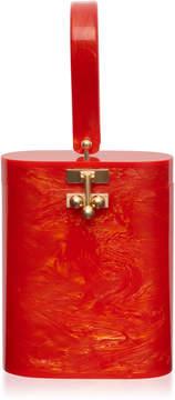 Edie Parker Acrylic Oval Bucket Bag