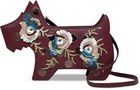 Radley London Embellished Ziptop Leather Shoulder Bag