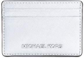 MICHAEL Michael Kors 'Jet Set Travel' cardholder - METALLIC - STYLE