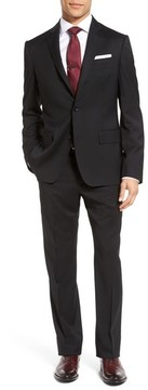 John W. Nordstrom Men's Classic Fit Solid Wool Suit