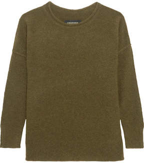 By Malene Birger Viala Bouclé-knit Sweater - Green