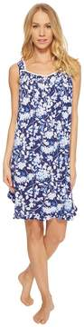Eileen West Modal Floral Short Chemise Women's Pajama