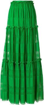 Capucci maxi full skirt