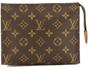 Louis Vuitton Monogram Canvas Toiletry 19 Pouch - BROWN - STYLE