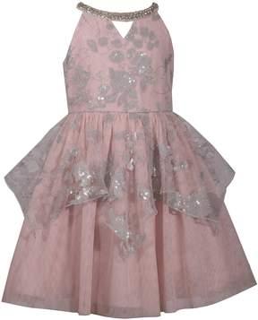 Bonnie Jean Girls 7-16 Sequined Peplum Dress
