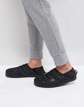 The North Face International Nse Traction Mules Quilted in Black