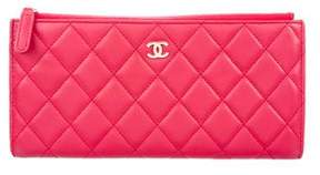 Chanel 2016 Lambskin Quilted Case