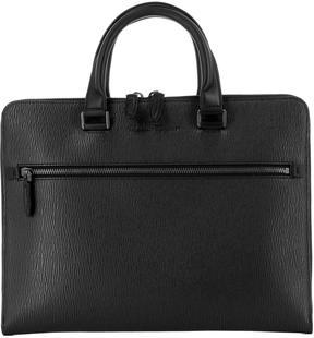 Salvatore Ferragamo Black Leather Revival 3.0 Handle Bag