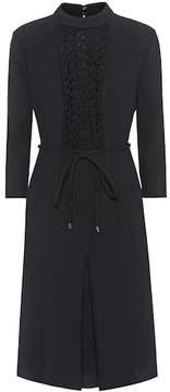 Bottega Veneta Wool-crêpe dress