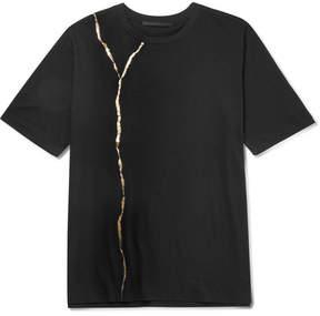 Haider Ackermann Slim-Fit Printed Cotton-Jersey T-Shirt