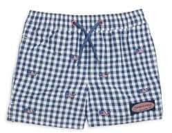 Vineyard Vines Little& Big Boy's Gingham Shorts