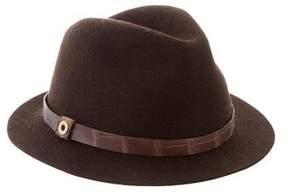 Loro Piana Diane Mink Felt Hat w/ Tags