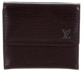 Louis Vuitton Epi Elise Wallet - BLACK - STYLE