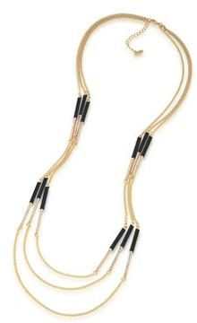 ABS by Allen Schwartz Color Binge Wrapped Illusion Necklace