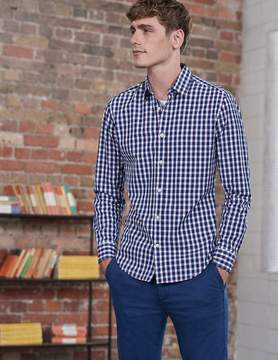 Boden Slim Fit Poplin Pattern Shirt