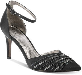 Adrianna Papell Helma Embelished Pointed-Toe Evening Pumps Women's Shoes