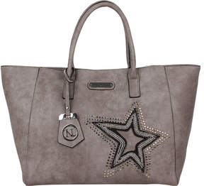 Nicole Lee Brona Glitz Star Patch Shopper Bag (Women's)