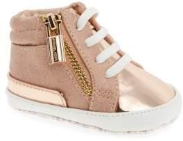 MICHAEL Michael Kors Infant Girl's Baby Bleu High-Top Crib Shoe