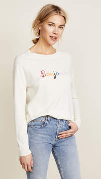 Chinti and Parker Bonjour Bonsoir Cashmere Sweater