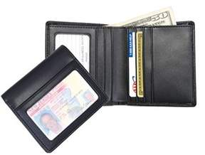 Royce Leather Men's Double Id Bi-fold Wallet 100-6.