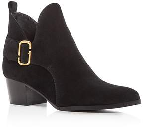 Marc Jacobs Ginger Interlock Block Heel Booties