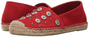 The Kooples Classic Espadrilles in Suede with Embroidery