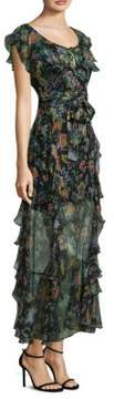 Alice McCall Oh Oh Oh Maxi Sheer Floral Maxi Dres