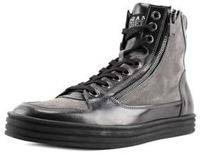 Hogan 141 N.lavoraz. Zip Laterale Youth Suede Black Fashion Sneakers.